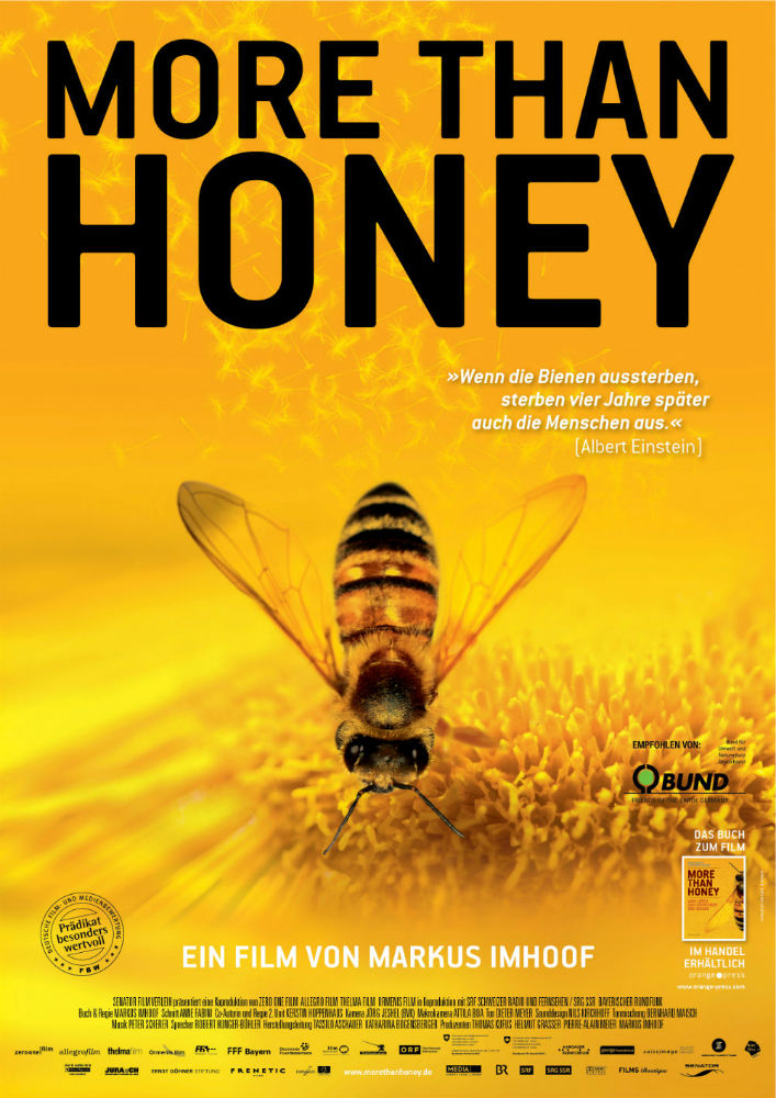 More than honey Plakat